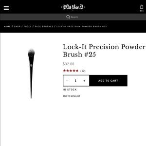 Kat Von D Lock-it Precision Powder Brush #25